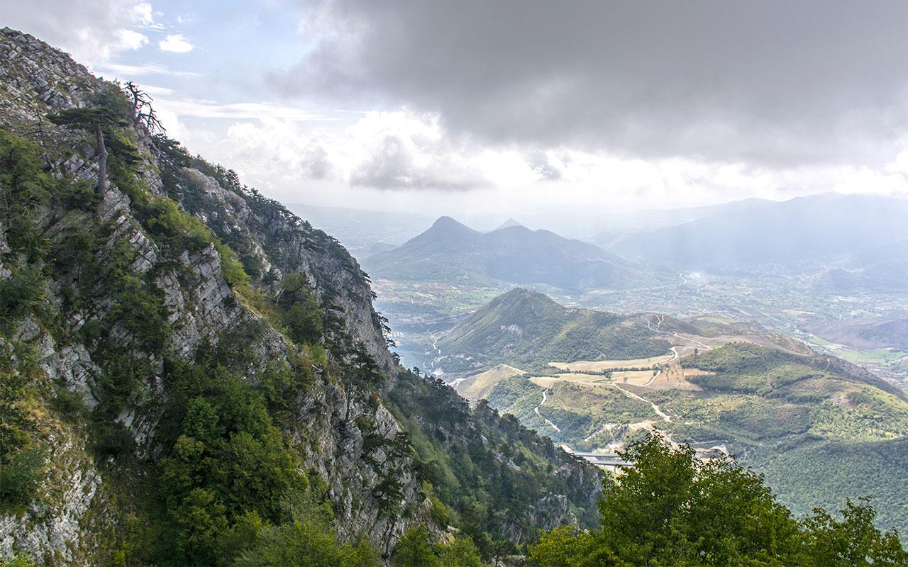 Il Belvedere del Malvento e i Pini Loricati
