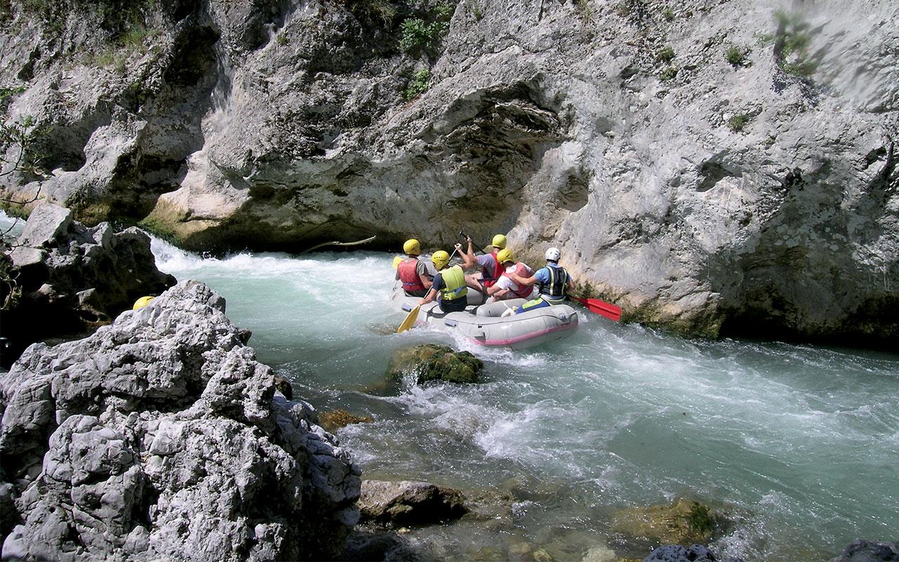 Laino Borgo – Rafting
